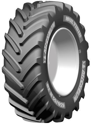 540/65R28 142D TL MULTIBIB Michelin
